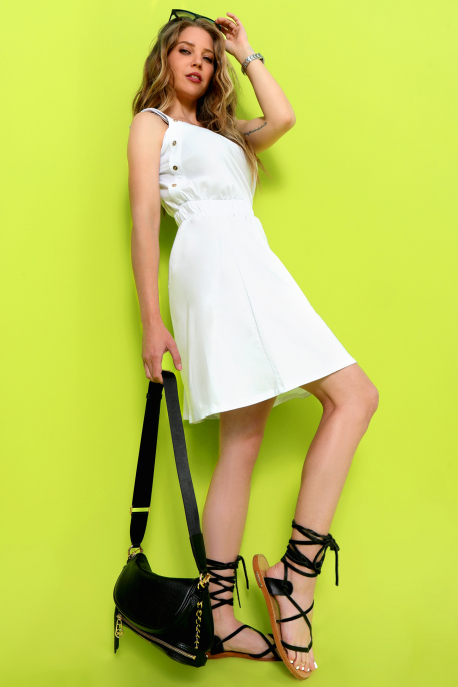 AMNESIA Japin ruha fehér