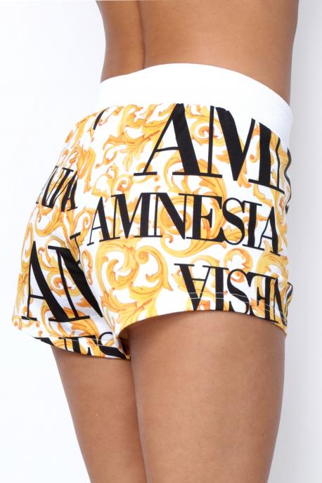 AMNESIA Drikon short sárga