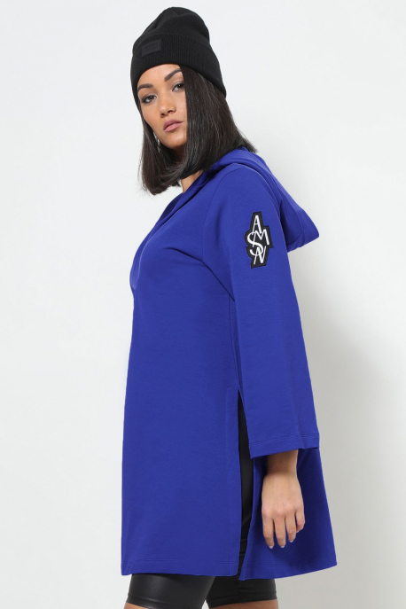 AMNESIA Eleonóra tunika kék