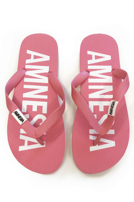 AMNESIA Papucs Rózsaszín/Fehér