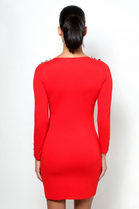 AMNESIA Jenea ruha piros