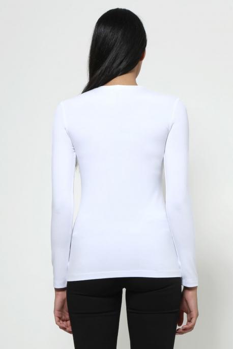 AMNESIA Xihin felső fehér/plecsni