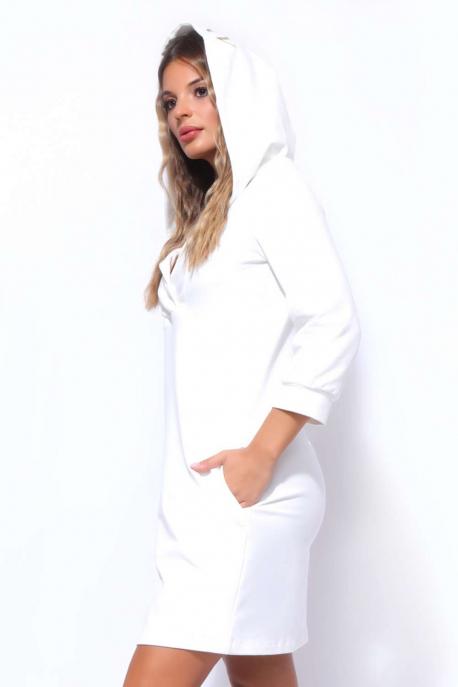 AMNESIA Arvil-futter kapucnis ruha