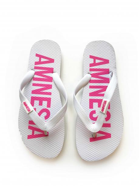 AMNESIA Papucs Fehér/Pink