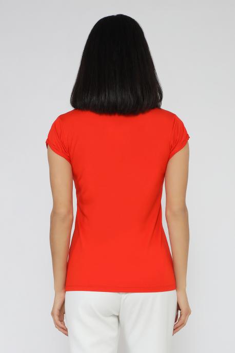 AMNESIA Poppy póló piros