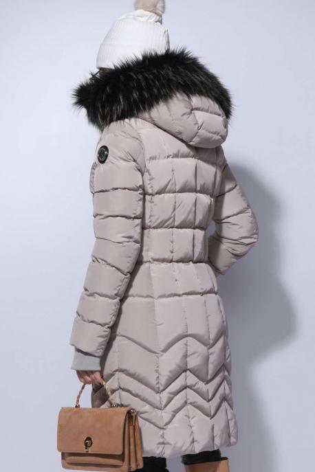 AMNESIA Matt hosszú kabát