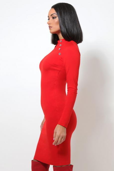 AMNESIA Jilia ruha piros