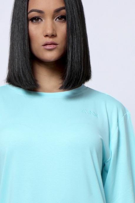 AMNESIA Arléna hímzett tunika kék