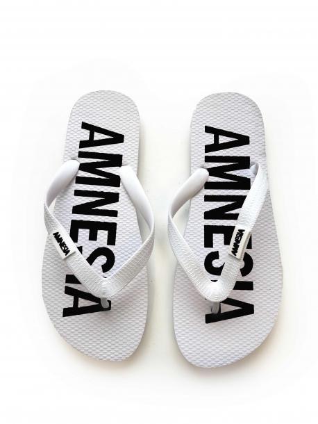 AMNESIA Papucs Fehér/Fekete