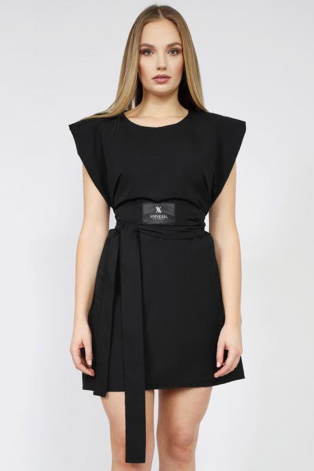 AMNESIA Line ruha fekete
