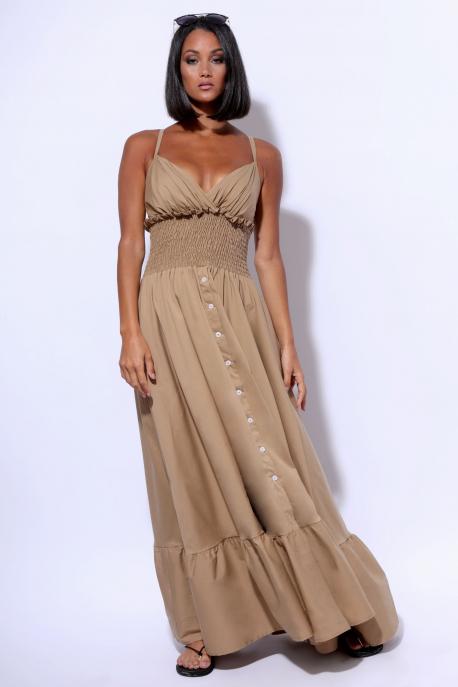 AMNESIA Daliara ruha bézs