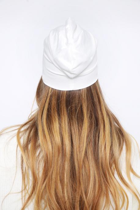 AMNESIA Raw sapka ekrü/fehér logó