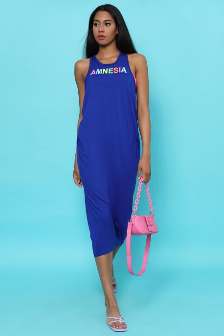 AMNESIA Ricell ruha+ top kék/pink