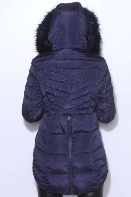 AMNESIA Hátul zippes kabát