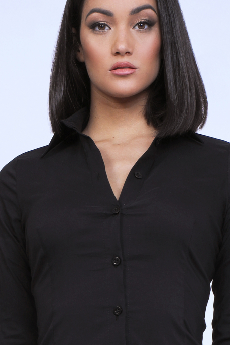 AMNESIA Nasic blúz fekete