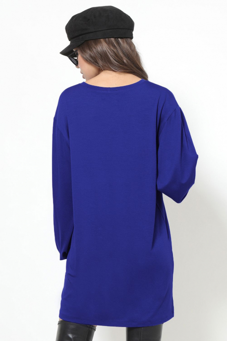 AMNESIA Arléna tunika kék