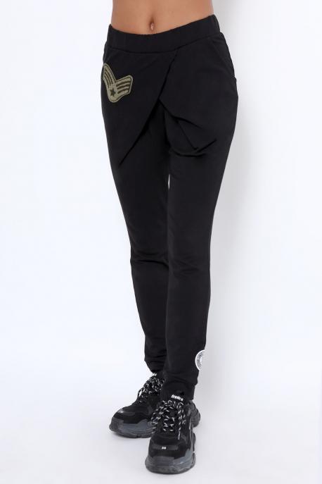 AMNESIA Devi nadrág fekete