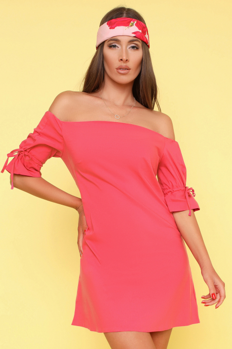 AMNESIA Turvin tunika világos pink