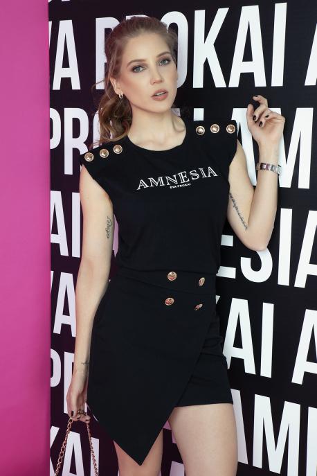 AMNESIA Jenola szoknya fekete