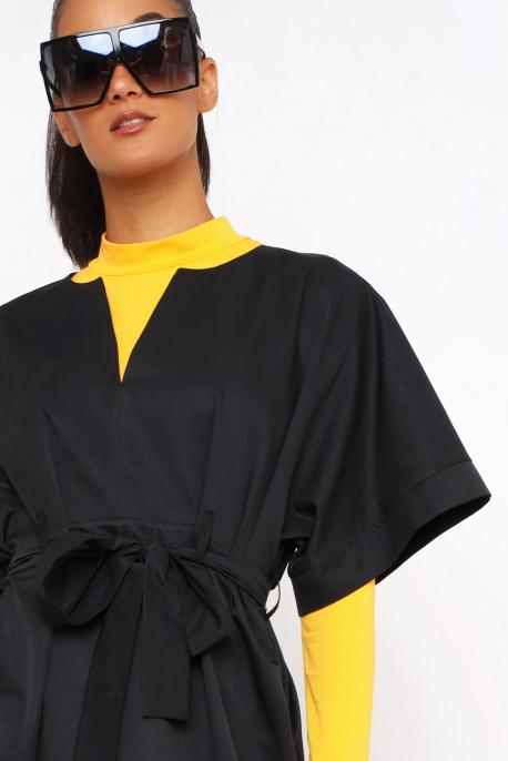 AMNESIA Jalinda ruha fekete