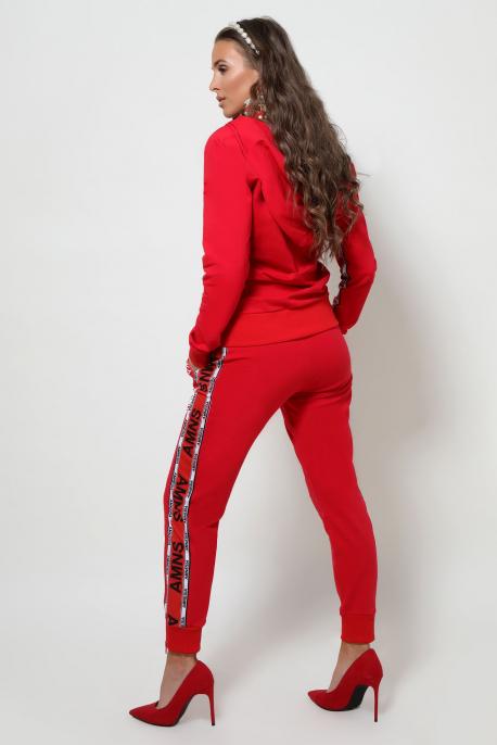 AMNESIA Diamond jogging piros