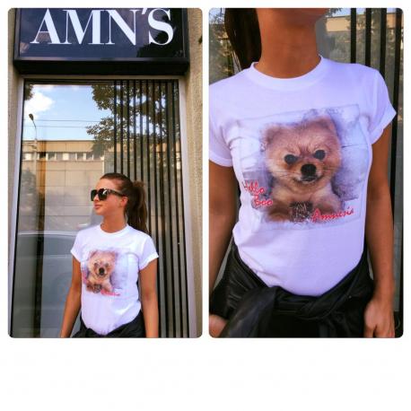 AMNESIA kutyás póló