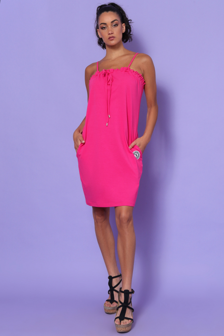 AMNESIA Tazlinka ruha pink