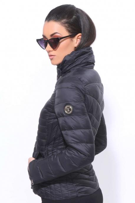 AMNESIA Átlósan zippes kabát