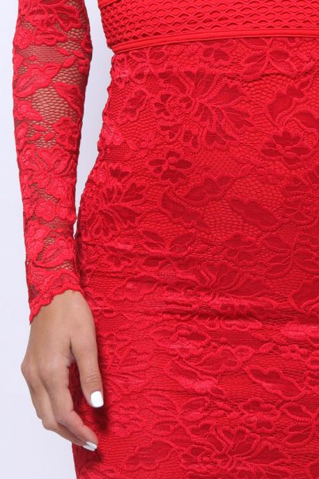 AMNESIA Akiro ruha piros