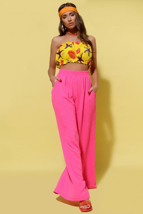 AMNESIA Melena nadrág pink